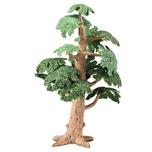 Morza Miniatur-Fee-Garten Kiefern Mini Plants Puppenstuben Dekor Zubehör Garten Ornament