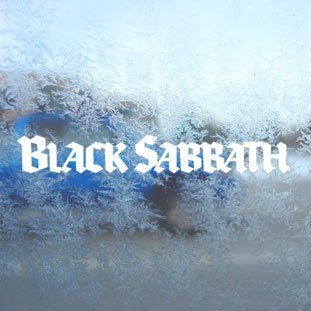 Aufkleber / Autoaufkleber / Sticker / Decal Black Sabbath White Decal Car Laptop Window Vinyl White Sticker Auto Vinyl-aufkleber Bunt