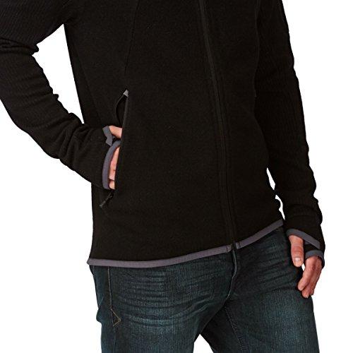 Bergans Timian Jacket Men - Wollfleece Jacke black L
