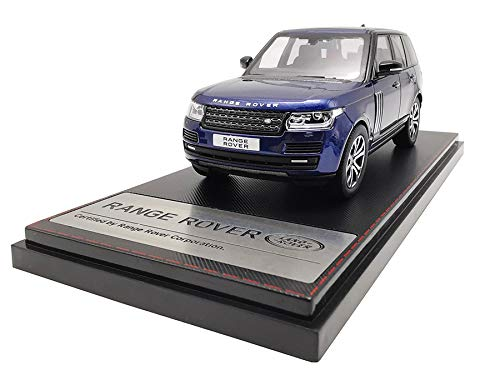 LCD Models LCD43001BU - Land Rover Range Rover SV Autobiography Dynamic 2017 Blue - maßstab 1/43 - Sammlungsmodell - diecast Lcd-land Rover