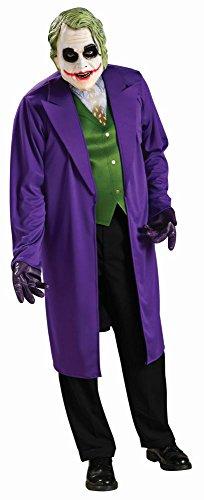Rubie's Batman Herren Kostüm The Joker Classic Karneval Fasching - Classic Joker Kostüm