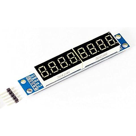 Display digitale 8segmento led driver modulo MAX7219per Arduino Raspberry Pi