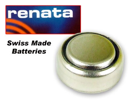 (Renata) Battery 357 (SR44W) SILVER 1.55V (SWISS - 357-batterien