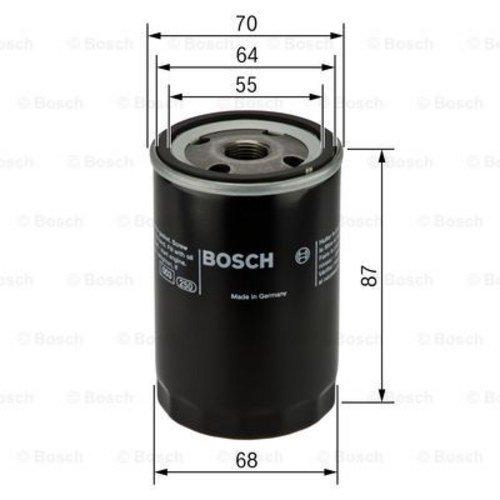 Preisvergleich Produktbild BOSCH Ölfilter 0 986 452 041