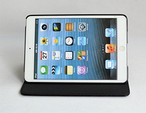 inShang iPad Hülle Schutzhülle für iPad mini 4, PU Leder mit Muster von Diamond, Ständer Etui Tasche Smart Case Cover für ipad mini4 mit Automatische Einschlaf/Aufwach + inShang Logo hochwertigen Stylus Eingabestift Stift - 3
