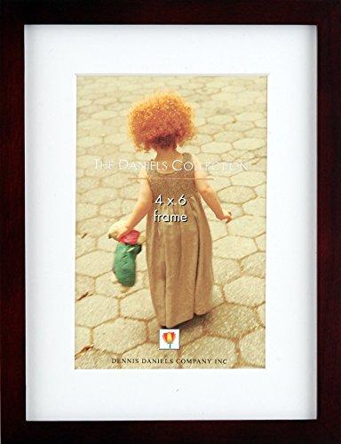 Dennis Daniels Galerie Holz Matte Rahmen hält Bild, 10,2x 15,2cm, Nussbaum dunkel - Dunkle Braune Farbe Finish