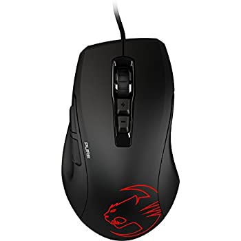 e07ffa3c804 ROCCAT Kone Pure Owl-Eye 12000 dpi Optical Sensor RGB Gaming Mouse, Black