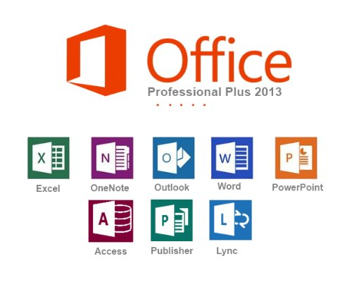 Produktbild Microsoft Office 2013 Professional Plus | ProductKey | Multilanguage | 1 PC | Original