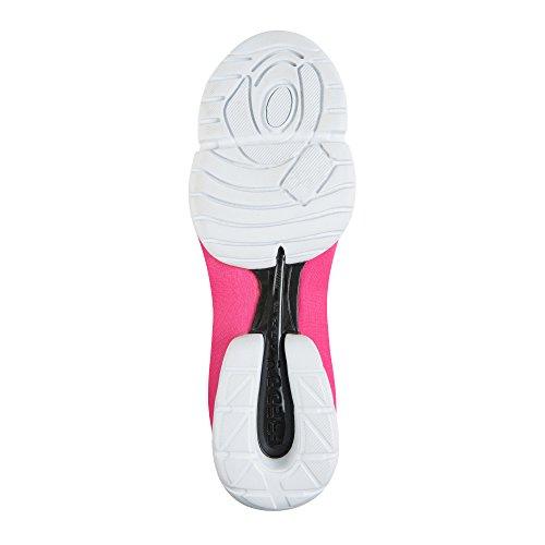 Freddy 3pro Ballerina Damen Outdoor Fitnessschuhe Pink (Pink F)