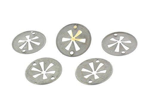 50x Schnellverschluss Metall Klemmscheibe N90335004 , 6715468. 100% original. Kostenloser Verssand