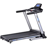 Preisvergleich für Laufband MAXXUS RunMaxx 6.4 Klappbar - Kompakte Treadmill Mit Klappbarer Lauffläche Und Dämpfungssystem - 18km/h, 12% Steigung - Starker 2,25/5,6 PS DC-Motor - Große Lauffläche Für Sicheres Training