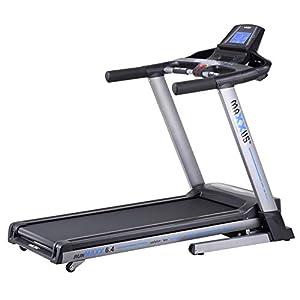 Laufband MAXXUS RunMaxx 6.4 Klappbar – Kompakte Treadmill Mit Klappbarer Lauffläche Und Dämpfungssystem – 18km/h, 12% Steigung – Starker 2,25/5,6 PS DC-Motor – Große Lauffläche Für Sicheres Training
