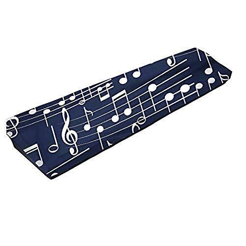 QEES Tastatur-Abdeckung für 61/88 Tasten, dehnbar, 61/88 Noten, Tastatur, Staubschutz, Klavier dehnbar, Schutztastatur-Abdeckung JJZ357