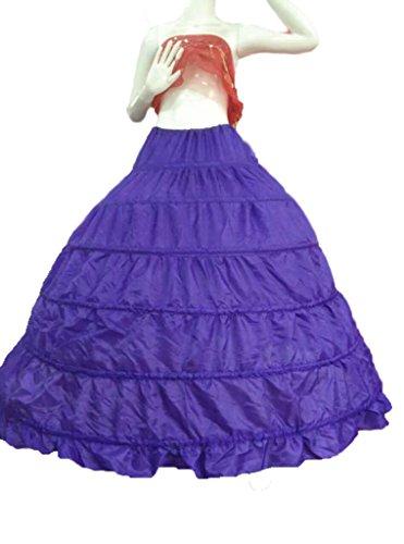 Bridal_Mall - Jupe spécial grossesse - Jupon - Femme Blanc blanc Taille Unique Lilas