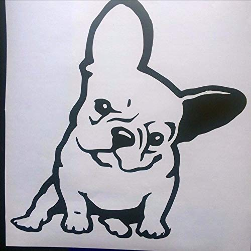 45a0954fb14 Pet Dog Wall Decal French Bulldog Melancholy Face Vinyl Wall Sticker Home  Decor High Quality Vinyl