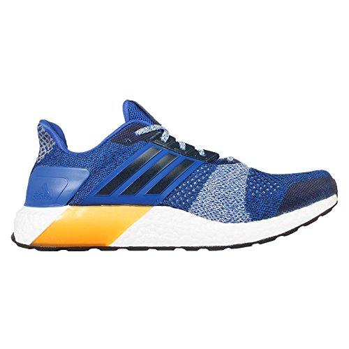 adidas Ultra Boost St M, Chaussures de Running Entrainement Homme, Noir Multicolore - Azul / Negro (Eqtazu / Maruni / Azuhal)