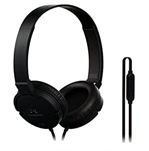SoundMagic P10S Headphones with Mic (Black/Gunmetal)