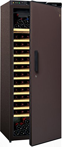 Cave à vin de vieillissement - 1 temp. - 184 bouteilles - Marron - CLIMADIFF - ACI-CLI711TC - Pose libre