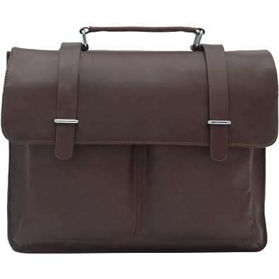 1ST High-level Crazy Horse HANDMADE Leather Men's Briefcase Tote Laptop Messenger Bag #7100B