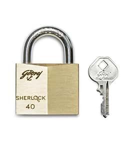 Godrej Locks Sherlock - 40 mm (Carton)