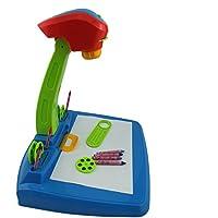 Zeichen- und Lerntisch für Kinder, mit Projektorlampe