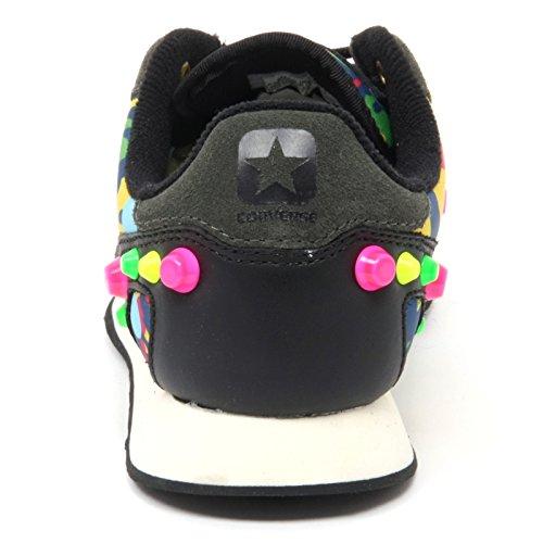 B8789 Baskets Donna Converse Auckland Racer Ox Chaussure Multicolore Borchie Femme Multicolore
