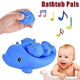 Gaddrt Wasserdelfine Kinder-Familien-weiches Bad-Delphin-Spielwaren Spielzeug