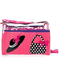 Shopaholic Attractive Hat And Purse Featured Pink Swimming Bag For Girls