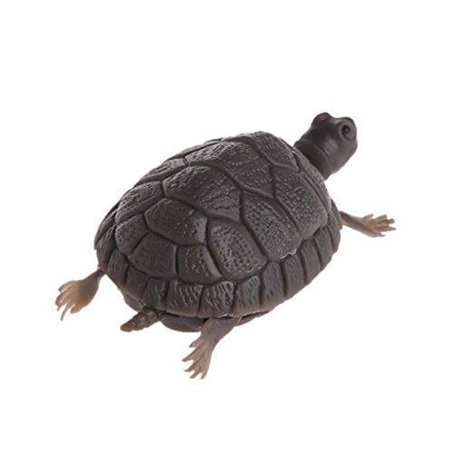 Jiamins Dekorieren Sie Gefälschte Schildkröte Emulational Schwimmende Schildkröten Aquarium Decor