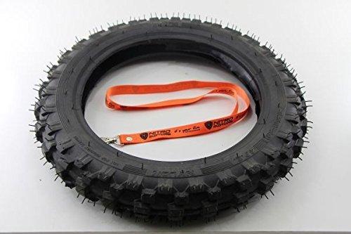 Nitro Motors Reifen für Bikes 2.50x10 Tyre Pocket Dirt Bike Quad + Gratis Schlüsselanhänger Lanyard