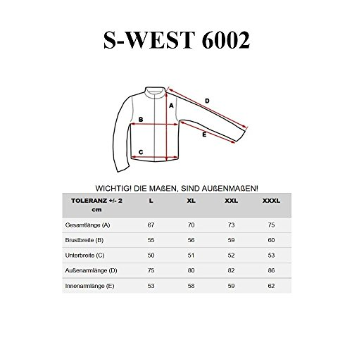 BOLF Herrenpullover Pulli Sweatshirt Sweatjacke Sweater Top S-WEST 6002 Schwarz