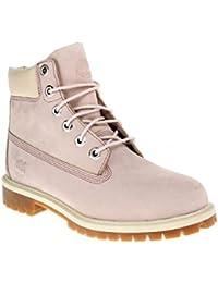 1d1f2156b6 Timberland 6 IN PREM WP BT W - Damen Schuhe Schnürstiefel Boots - C34992 -  rosa