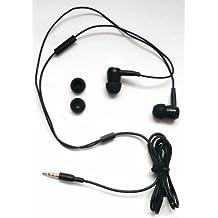 Emartbuy Premium Extra Bass In Black Ear-Stereo-Freisprecheinrichtung Headset Mit Mikrofon Passend Für Nokia Lumia 800