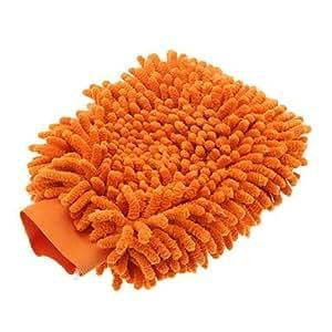 GDW Mikrofaser Reinigungstuch Waschhandschuh Mitt für Auto