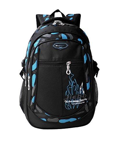 Imagen de  niño  escolares impermeable de morrales de multi función viajes volver packs azul