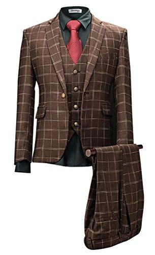 set-elegante-casual-dress-slim-fit-blazer-cappotti-giacche-vestiti-coffee-large