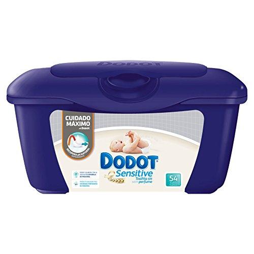 Dodot Sensitive - Caja de 54 toallitas para bebé