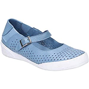 Hush Puppies Womens Bailey Buckle Strap Summer Shoe