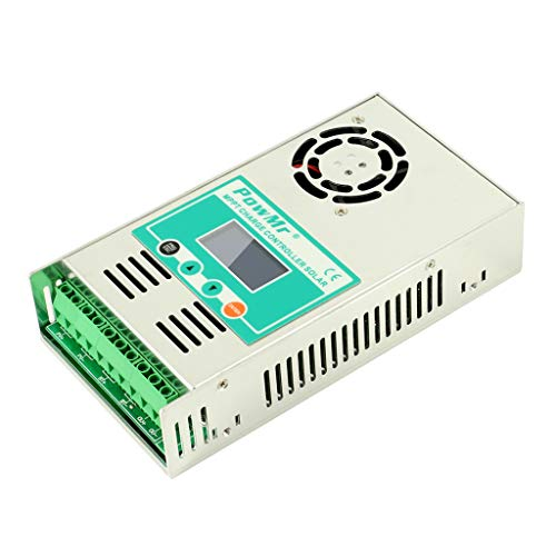 F Fityle MPPT Solarladeregler Solarregler Laderegler 12V/24V/36V/48V, 10A-60A - 30A