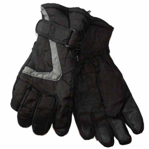 GL 109enfants/garçon thermique gants pour l'hiver Bleu - Blau - Blue-Grey