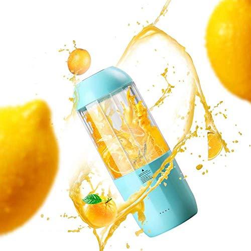 Aids-nahrungsergänzungsmittel (RMXMY Haushalts Mini tragbare 350 ML Sportflasche USB wiederaufladbare Eismaschine Obst und Gemüse Nahrungsergänzungsmittel Lebensmittel Saft Tasse Multifunktions Entsafter)