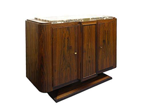 Art Deco Sideboard (Antike Fundgrube Sideboard Anrichte Art Deco Schrank französisch um 1925 Palisander B 140 (4846))
