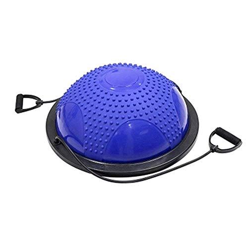 haimoo palla da yoga, palla da ginnastica emisfero palla da biliardo palla da moto ondulata addensare palla semicircolare antideflagrante sicura e resistente