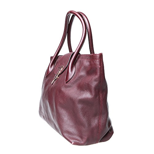 Trussardi - Trussardi shopper à main - 66B302J119 Bordeaux