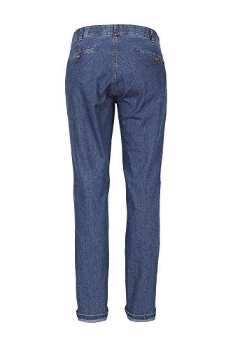 Club of Comfort Herren Jeans Pima Bauwolle Stretch auch große Größen Stonewash Dark