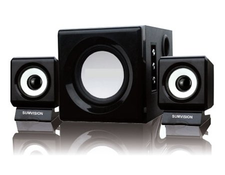 Sumvision  Ncube Pro 2.1 PC MP3 Laptop Speaker System N Cube