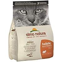 holistic cat adult mangime secco per gatti gusto pesce e riso kg.2