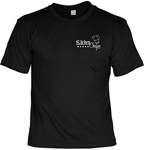 Fun Shirt Mit Coolem Kochmotiv Kuchen Chefin Kleines Brustmotiv