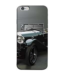 Fuson Designer Back Case Cover for Apple iPhone 6 (Wheels Porsche Turbo Engine Vintage)