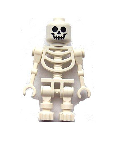 Lego weißes Skelett standart klassisch white skeleton Minifigur weiss FANTASY (Lego City Bauernhof-tiere)